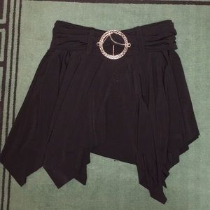Hot Kiss Black Skirt